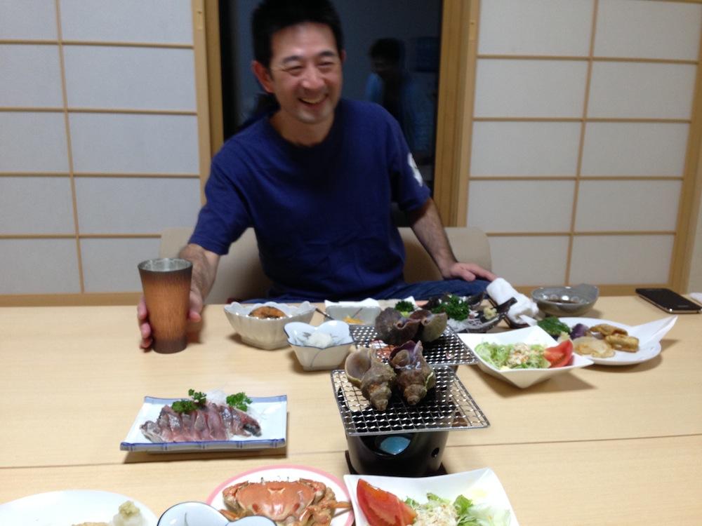 泰平荘の夕食2